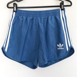 | adidas | pull-on striped trefoil logo shorts